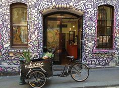 Our dear neighbours, Hoboken in Hosier Lane, Melbourne