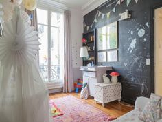 Paris kids room
