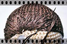 Amigurumi Hair Tutorial : Amigurumi hair tutorial amigurumi patterns tutorials and dolls