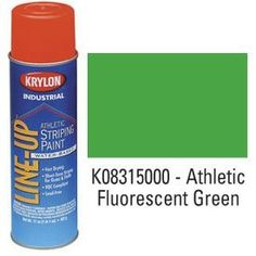 Description: Krylon Industrial Line-Up Wb Athletic Field Striping Paint Fluor. Green Manufacturer's Part Number: Brand: KRYLON Paint Rollers With Designs, Towel Warmer, Painted Cups, Paint Shop, New Market, See On Tv, Wall Treatments, Easy Paintings, Pantone Color