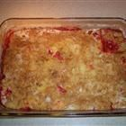 love this recipe for strawberry rhubarb dump cake...great with a scoop of vanilla icecream