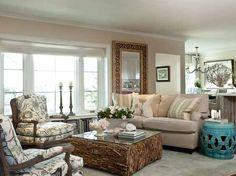 Coastal Family Room ..LOVE!