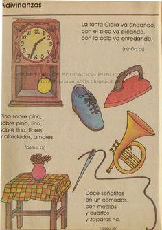 Trabalenguas.. te acuerdas? libros de texto gratuitos 80's México