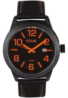 FC1098BOGN Black / Black Analog Watch