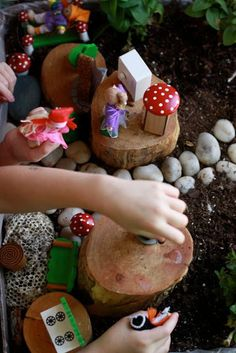 "The ""Living"" Dollhouse. . . - Fairy Dust Teaching #smallworldplay #fairydustteaching"