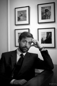 Patrick Grant of E.Tautz and Norton & Sons, both of Savile Row, London