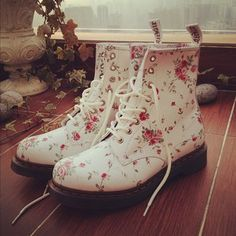 Adorable Dr.Martens (Although red and black would be better)!! :-)