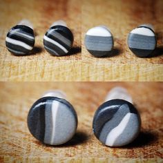 New black, white and grey studs in stock now!