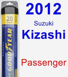 Passenger Wiper Blade for 2012 Suzuki Kizashi - Assurance