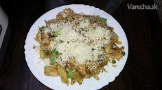 Kuracie kúsky so šampiňónmi a ryžou (fotorecept) - Recept