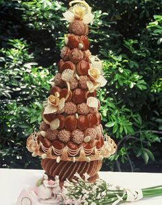 Croquembouche for grooms cake
