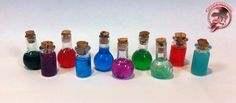 Making Potion Bottles for Super Dungeon Explore - Tips & Tutorials - Figurepainters.com Custom Painted Minitures. Warmachine, Hordes, 40k, Malifaux and any other miniture you can think of!