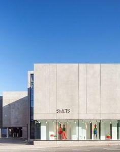 Façade - Smets Concept Store - Bruxelles