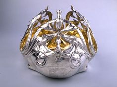 Centerpiece presented to Prince and Princess Albert of Belgium, October 2, 1900. Artist: Philippe Wolfers Designer Wolfers Frères Manufacturer. Belgium Brussels  1900
