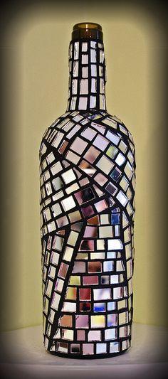 mosaic bottles - Google Search