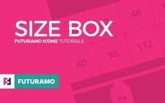 FUTURAMO ICONS Tutorials – Size box