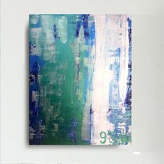 9SW. Original handmade abstract painting on by artybit on Etsy, £45.00