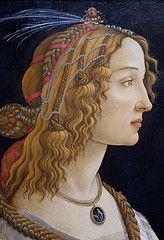 Sandro Botticelli, Weibliches Idealbildnis, genannt Bildnis der Simonetta Vespucci als Nymphe, Ausschnitt (Idealized female portrait aka Simonetta Vespucci as a nymph, detail) | Flickr - Photo Sharing!