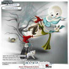 Moon Whispers2Actions #CUdigitals cudigitals.com cu commercial digital scrap #digiscrap scrapbook graphics