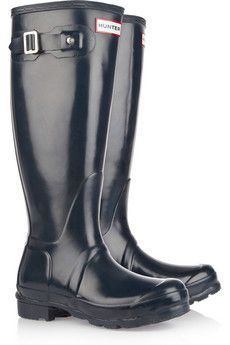 I really want a pair of Hunter Rain Boots especially after discovering my cheap Target ones are not very waterproof.