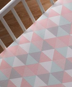 Loving this Red & White Tripod Fitted Crib Sheet on #zulily! #zulilyfinds