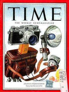 Le ET du TIME MAGAZINE a une bonne tête de Leica IIIf.