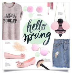 Hello Spring by mahafromkailash on Polyvore featuring polyvore fashion style Charlotte Russe Eve Lom clothing