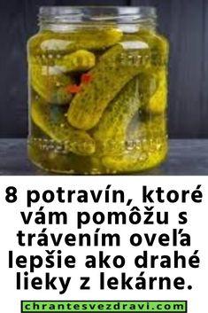 8 potravín, ktoré vám pomôžu s trávením oveľa lepšie ako drahé lieky z lekárne. Kefir, Pickles, Cucumber, Food, Essen, Meals, Pickle, Yemek, Zucchini