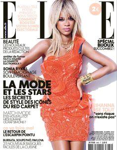 Rihanna Cover ELLE France 2012