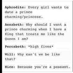 NICO! Will isn't a peasant!