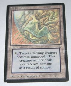 "1x EX - SP Maze of Ith  From ""The Dark"" MTG Magic The Gathering Rare Land Card"