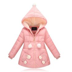 32.44$  Know more - http://aiwsl.worlditems.win/all/product.php?id=32784627430 - Good quality Children Winter Outerwear 2016 Baby Girls Down Coats Jacket Long Style Warm Thickening Kids Outdoor Snow proof Coat