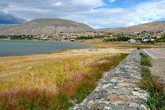 Esto es Calafate. Era un pequeño pueblo que ahora es muy popular debido a Parque Nacional Los Glaciares.