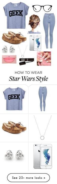 """"" by bivers on Polyvore featuring Topshop, UGG Australia, Georgini and Michael Kors"