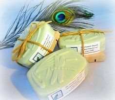 Handcrafted Oatmeal Soap Lime Cooler Scented Unisex Soap