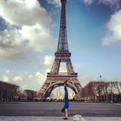 I flew all the way to France to do a handstand in front of the Eiffel Tower, then went home handstand.