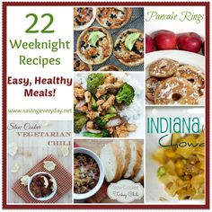 22 Recipes For Quick & Healthy Weeknight Meals