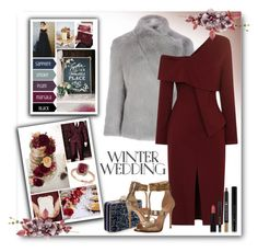 """True Romance: Winter Wedding"" by fashionlibra84 ❤ liked on Polyvore featuring Ted Baker, Wilbur & Gussie, Forever 21 and Nine West"