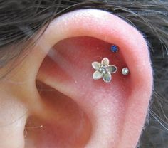 Dual helix and outer conch
