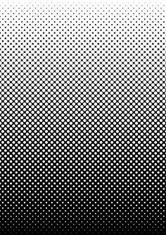 Black and white screen-tone style gradient by mrcentipede.deviantart.com on @DeviantArt