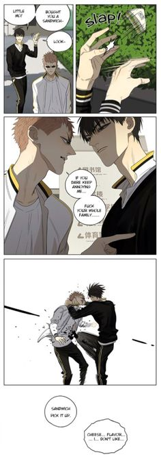 Old Xian update of [19 Days] translated by Yaoi-BLCD. ♡Ch.222♡