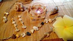 DIY Аксессуары Браслеты из бамбука, серьги из ракушек, джутового шпагата своими руками в эко стиле