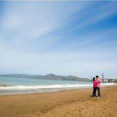 Baker beach pre wedding photography   By Andy sandy home for brides