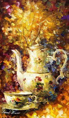 """""""5 O'Clock Tea"""" by Leonid Afremov"""