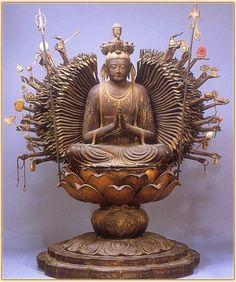 SENJU KANNON  Bodhisattva of Compassion