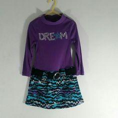 Piper Diva Dress Purple Girl Size XS 4/5