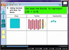 Classroom Freebies: Technology Help for Adding and Subtracting Decimals
