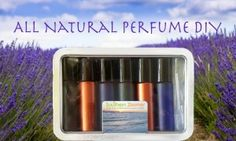 Create your own perfect scent using this All Natural Perfume DIY recipe on southernzoomer.com 3 ingredients, no chemicals!