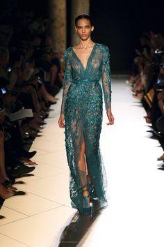Elie Saab Spring 2013 Spring 2013 sexy dress glamour