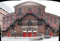 Massey Hall, Toronto - Built in Great acoustics so a wonderful venue for seeing your favourite bands. Kenny Garrett, Toronto Ontario Canada, Toronto Travel, Moorish, The Neighbourhood, Theatres, City, Herbie Hancock, Concert Venues